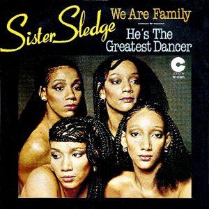 We Are Family delle Sister Sledge, grande successo di fine anni '70