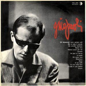 L'album Gino Paoli che conteneva i primi successi del cantante genovese