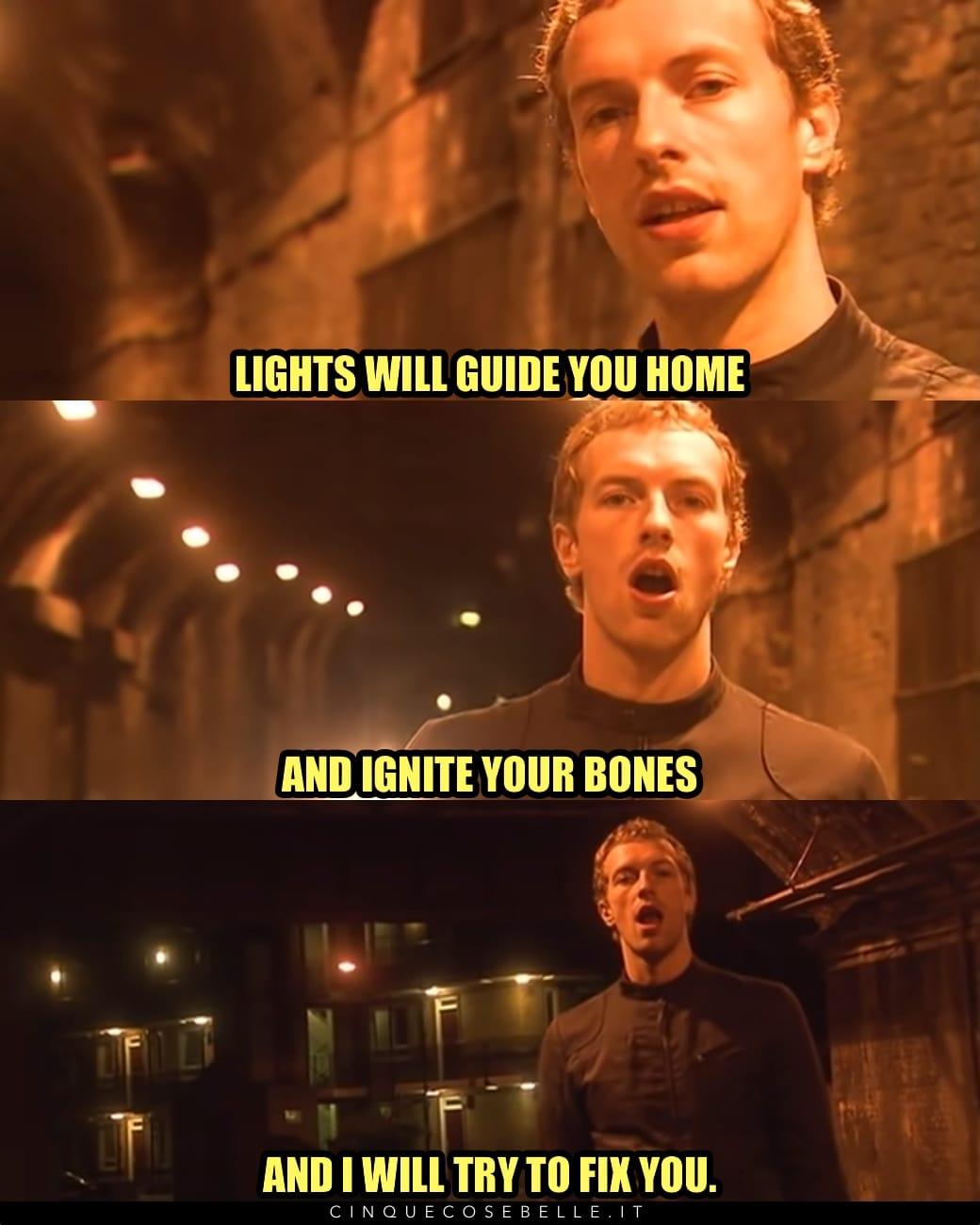 Fix You dei Coldplay