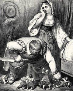 La favola di Pollicino illustrata da Gustave Doré