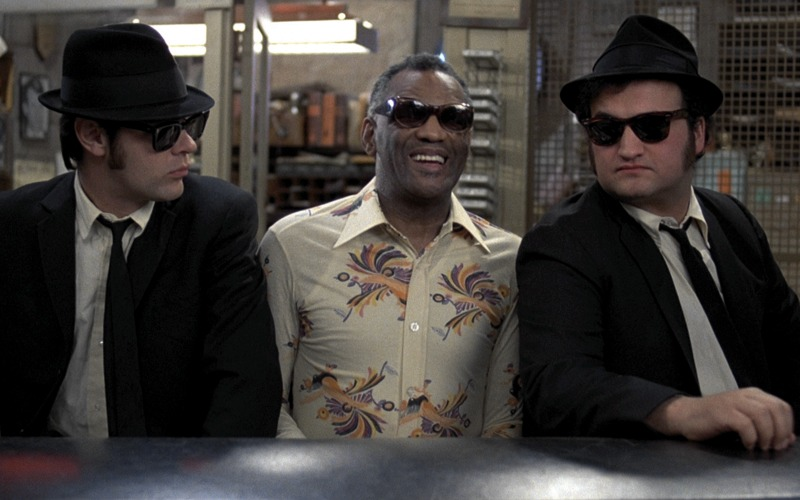 Ray Charles tra i Blues Brothers