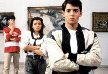 Ferris Bueller e i suoi amici, protagonisti di uno dei più famosi film divertenti per ragazzi, Una pazza giornata di vacanza