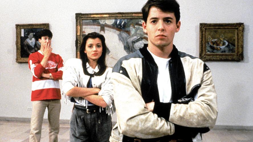 Ferris Bueller e i suoi amici in Una pazza giornata di vacanza