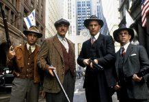 Il cast di The Untouchables - Gli intoccabili, uno dei film ambientati a Chicago al tempo della lotta alla mafia