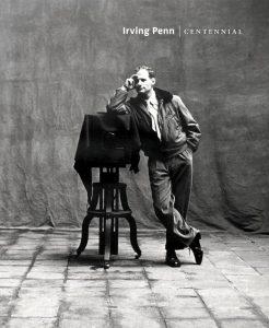 Irving Penn sulla copertina del catalogo di una sua mostra