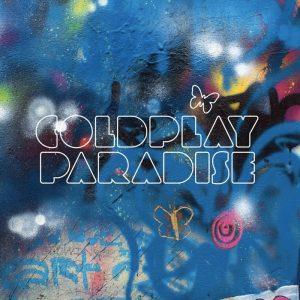 La copertina di Paradise dei Coldplay