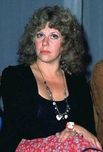 La scrittrice Erica Jong nei primi anni '80