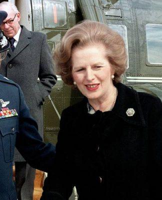 Margaret Thatcher, una a cui le frasi sulle donne forti calzano a pennello