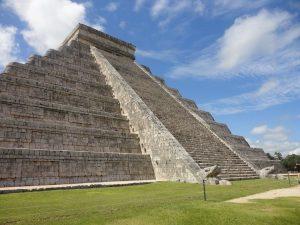 Le rovine di Chichén Itzá, in Messico