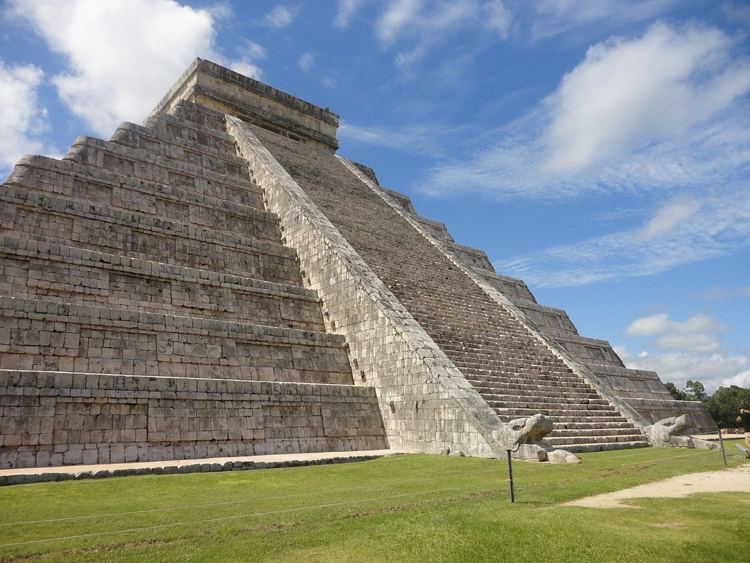 Le rovine di Chichén Itzá, in Messico
