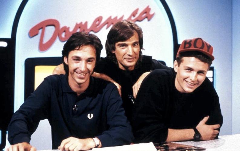 Linus, Claudio Cecchetto e Jovanotti, tre protagonisti della musica italiana anni '80