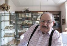 Umberto Eco, uno degli scrittori italiani più letti nel mondo (foto di Aubrey via Wikimedia Commons)