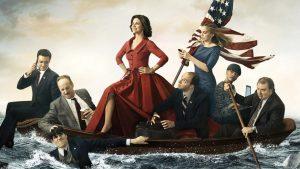 Gli attori di Veep ricreano a modo loro il quadro Washington attraversa il fiume Delaware