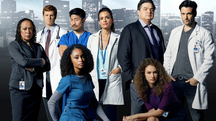 Il cast di Chicago Med