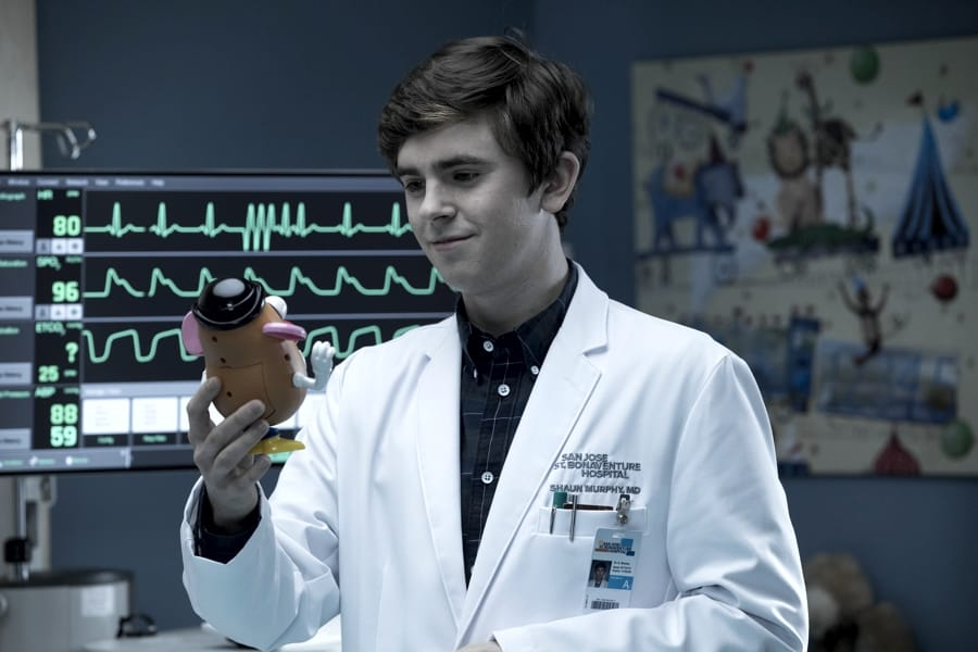Freddie Highmore, protagonista di The Good Doctor