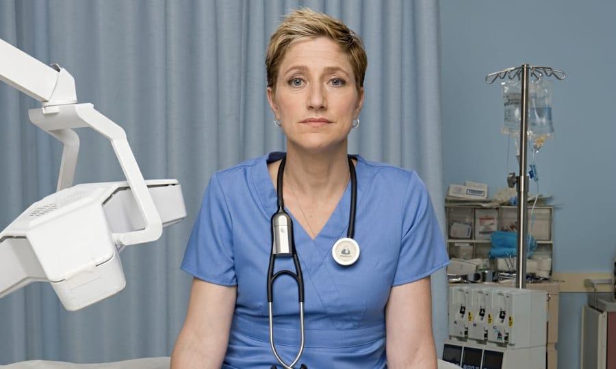 Edie Falco, protagonista di Nurse Jackie