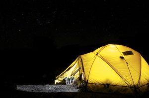 Neppure in campeggio si può stare tranquilli