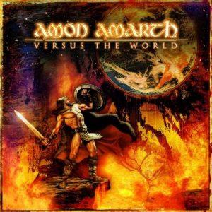 La copertina di Versus the World degli Amon Amarth
