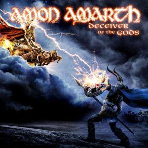 La copertina di Deceiver of the Gods degli Amon Amarth