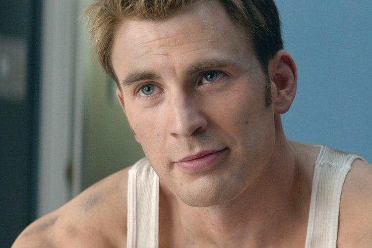 Chris Evans, volto di Capitan America