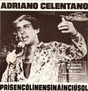 La copertina di Prisencolinensinainciusol di Adriano Celentano