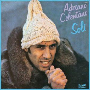 La copertina di Soli di Adriano Celentano