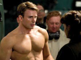 Il fisico di Capitan America dopo la trasformazione del siero del super soldato