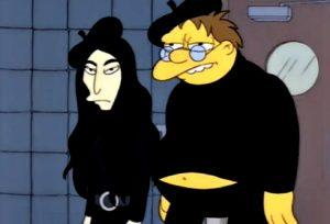 Anche i Simpson hanno preso in giro la moda esistenzialista