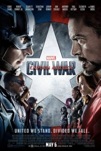 Il manifesto di Captain America: Civil War