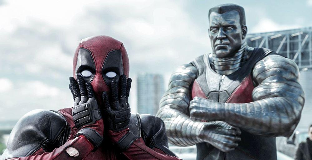 Deadpool e Colosso nel film dedicato al primo dei due mutanti