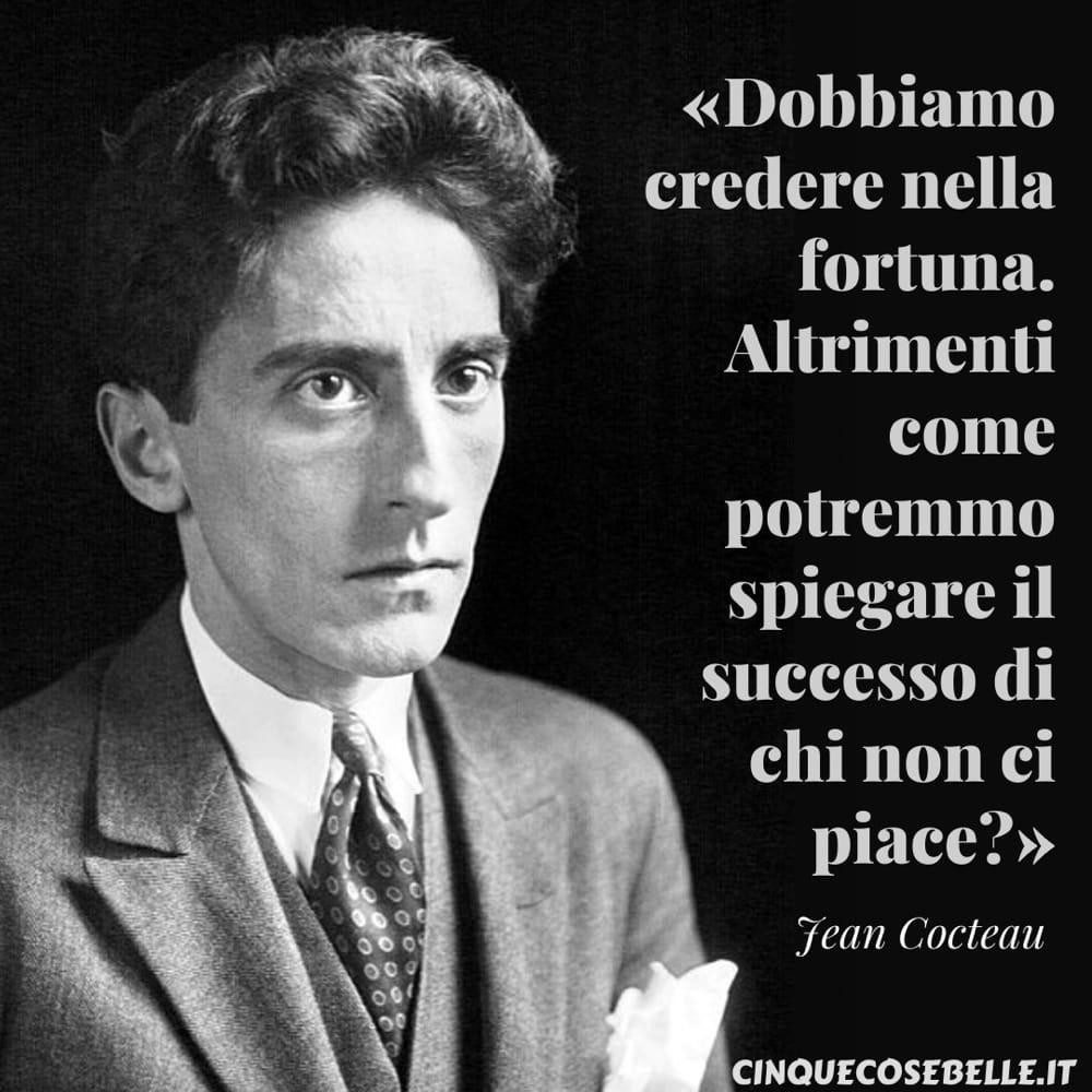 La citazione di Jean Cocteau sull'invidia