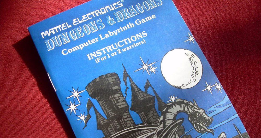 Una versione elettronica di Dungeons & Dragons del 1980 (foto di Ian Lamont via Flickr)