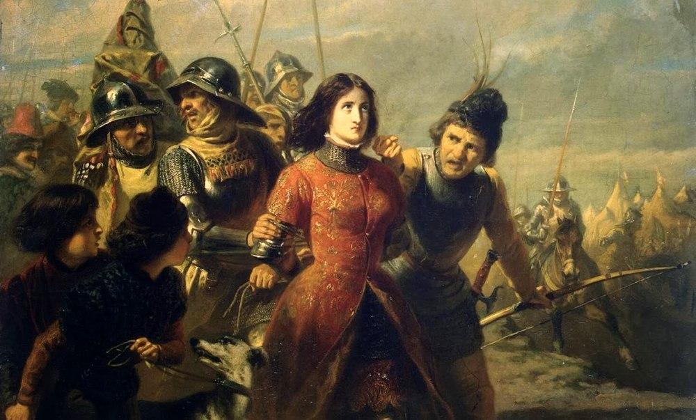 Giovanna d'Arco catturata dal nemico