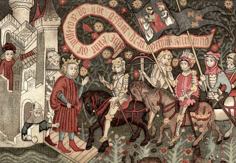 Giovanna d'Arco incontra Carlo VII a Chinon