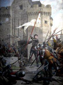 Giovanna d'Arco a Orléans in un quadro di Jules Eugène Lenepveu