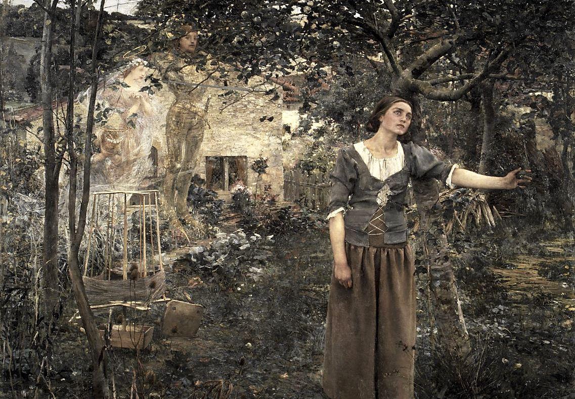 Le prime visioni di Giovanna d'Arco in un dipinto di Jules Bastien-Lepage