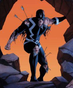 Freccia Nera, capo degli Inumani