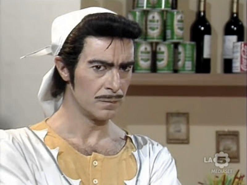 Salvatore Landolina nei panni di Marrabbio