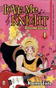 La copertina dell'edizione italiana del manga