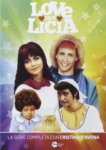 La raccolta dei DVD di Love Me Licia