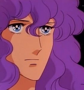 Satomi nell'anime di Kiss Me Licia