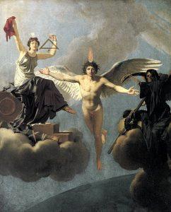 La libertà o la morte, quadro del 1795 di Jean-Baptiste Regnault con vari simboli della Rivoluzione francese