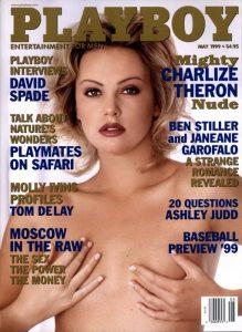 Charlize Theron sulla copertina di Playboy