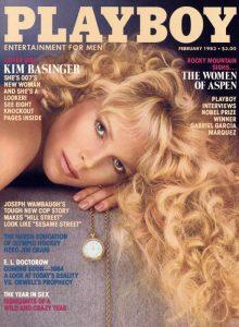 Kim Basinger sulla copertina di Playboy nel 1983
