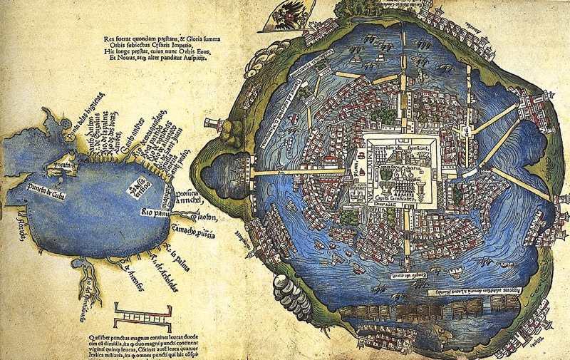 Tenochtitlàn nel 1524