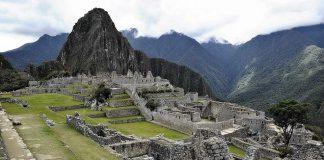 Le rovine di Machu Picchu, sulle Ande