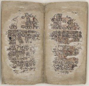 Il Codice di Parigi, importante documento per conoscere la scrittura dei maya