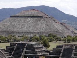 La Piramide del Sole a La struttura di Teotihuacan