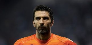 Gianluigi Buffon, affidabile portiere che guida un'altrettanto affidabile difesa (Doha Stadium Plus Qatar)