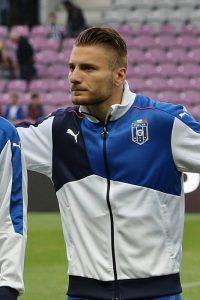Ciro Immobile, interessante attaccante della Lazio (foto di Clément Bucco-Lechat via Wikimedia Commons)
